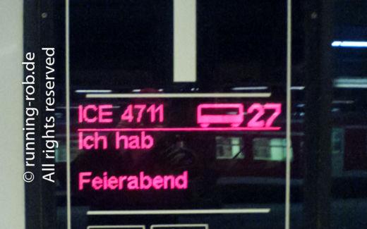 ICE 4711 - Ich hab Feierabend