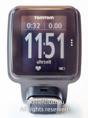 TomTom Multi-Sport Cardio: Daten