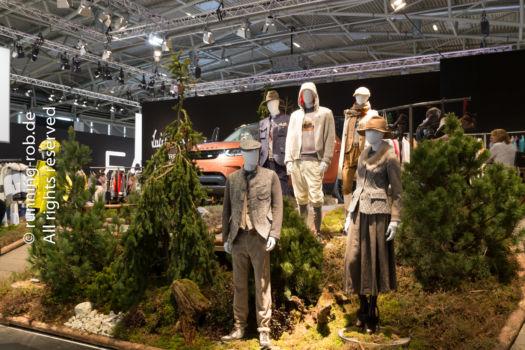 ISPO 2017 - Wald in der Halle