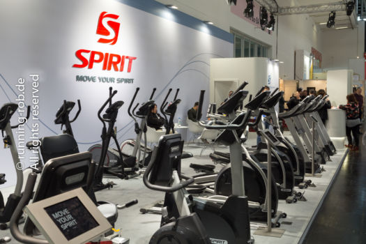ISPO 2017 - Crosstrainer und Laufbänder