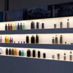 Trinkflaschen auf der ISPO 2017