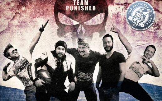 """Titelfoto unseres """"Team Punisher"""" für den Baltic Sea Circle 2017."""