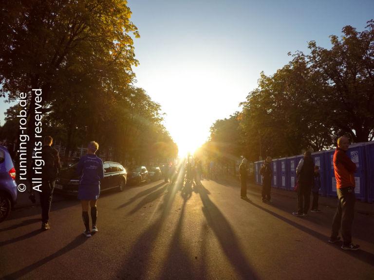 Münster Marathon 2017 Parkplatz