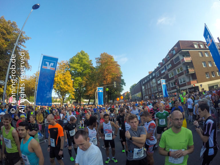 Münster Marathon 2017 vor dem Start