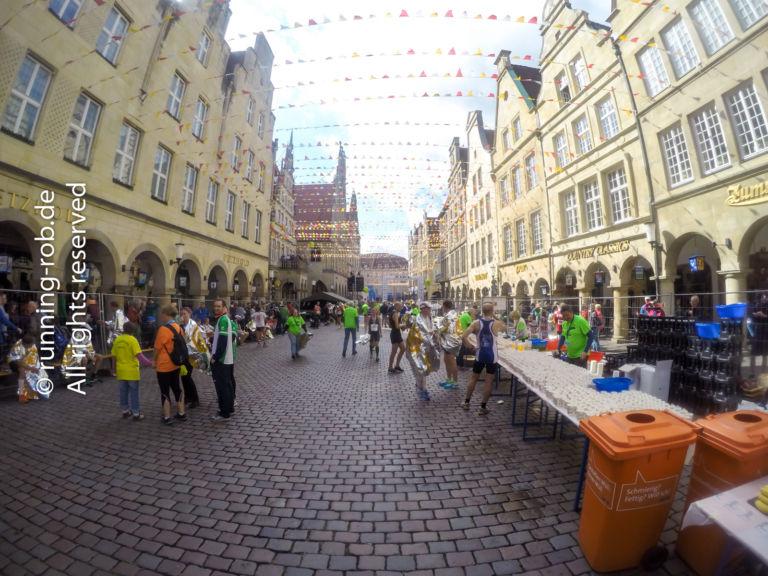 Münster Marathon 2017 Zielbereich