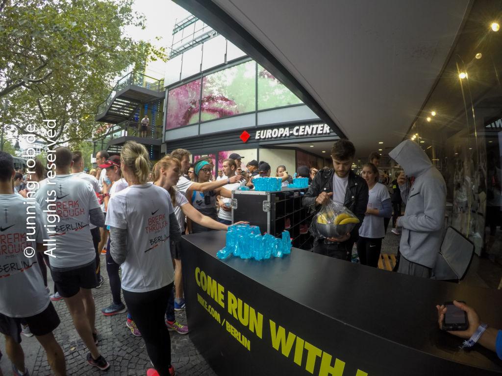 Nike ShakeOut Run vor dem Berlin-Marathon 2017