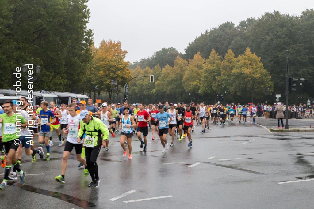 Berlin-Marathon 2017 kurz nach dem Start