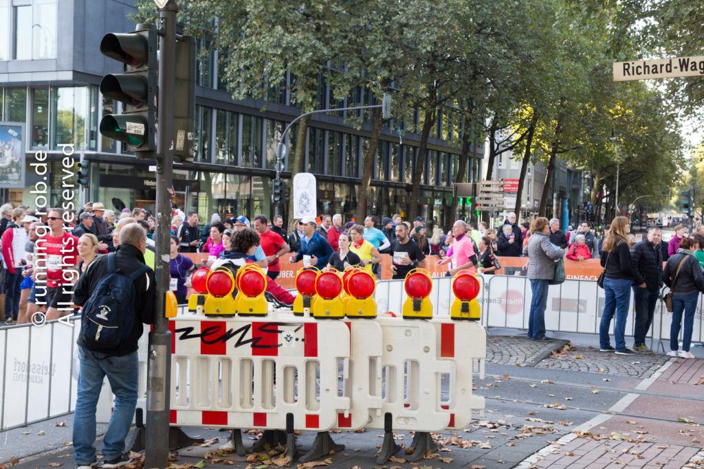 Köln Marathon 2017 - am Rudolfplatz