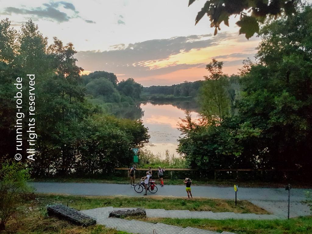 Sonnenaufgang am Enkheimer Ried